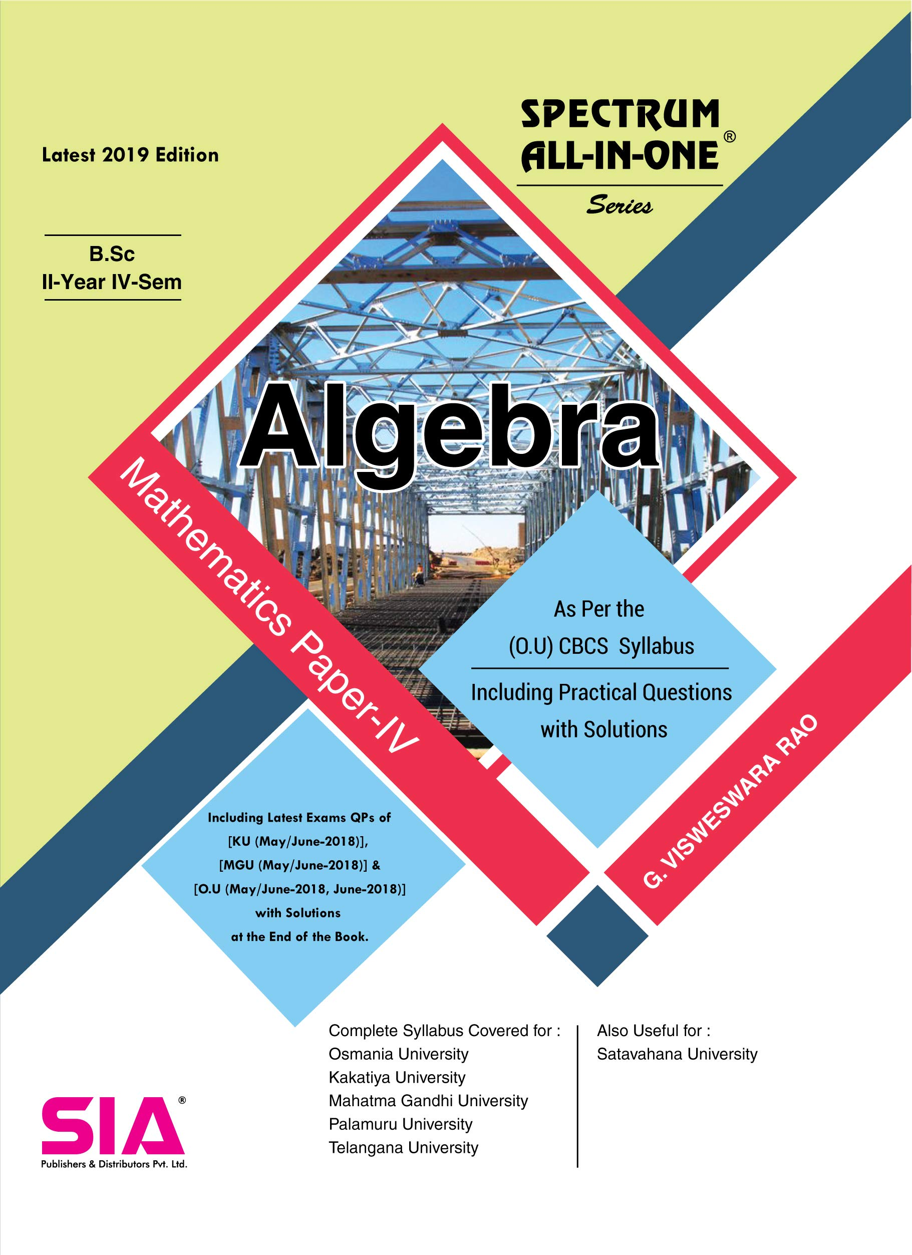 SIA Publishers arts-and-science-bsc-kakatiya-university-IIyear-IVsem