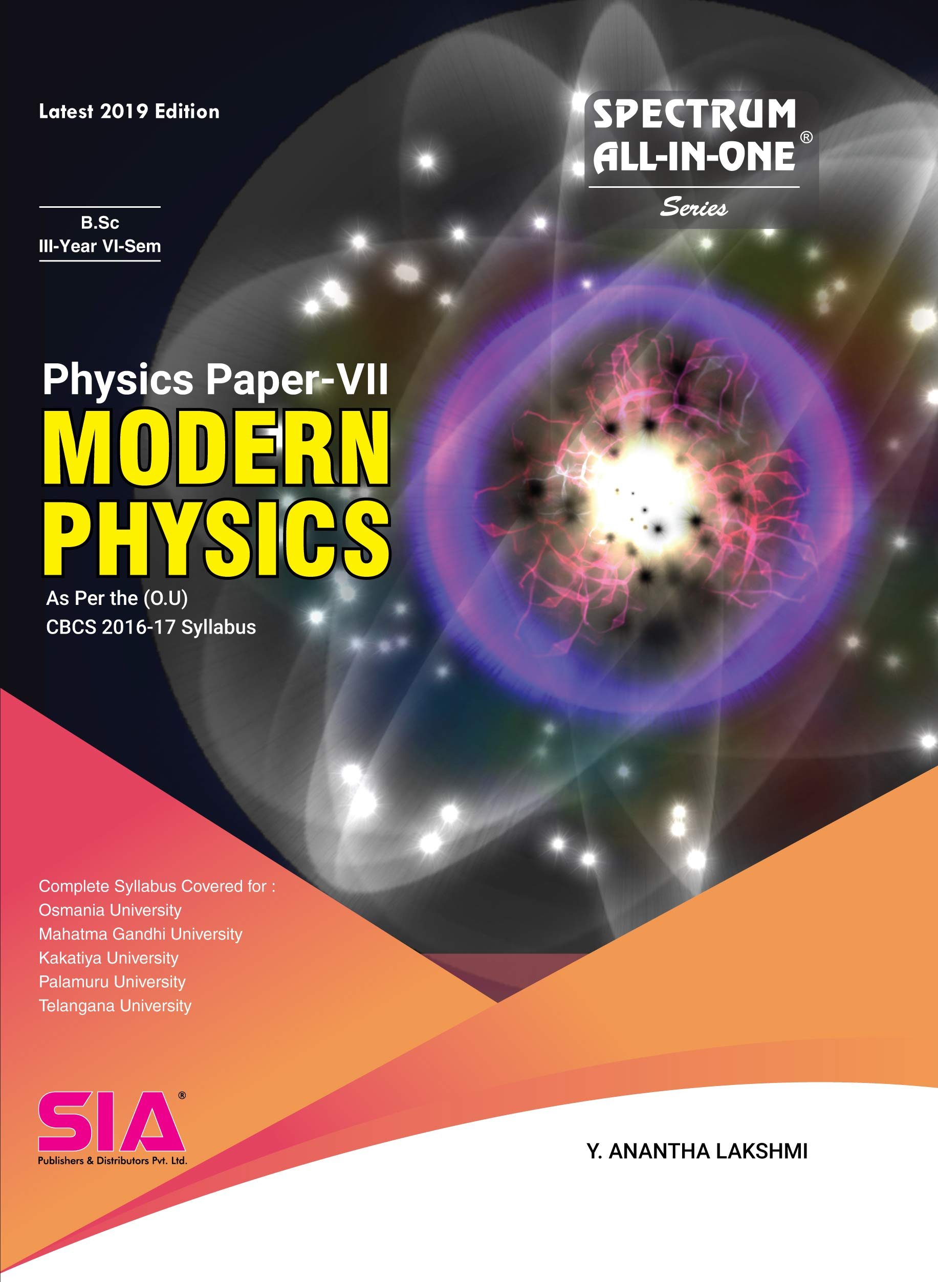 SIA Publishers arts-and-science-bsc-kakatiya-university-IIIyear-VIsem